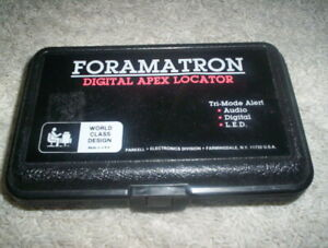 Parkell Foramatron Iv Digital Apex Locator In Case With Cable
