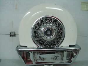 Vintage Chrysler 300 Continental Kit In As Found Condition 15 Inch Car Classics