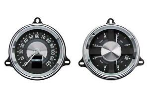 Dakota Digital Rtx Gauges 1954 1955 1st Series Chevrolet Truck Rtx 54c Pu X