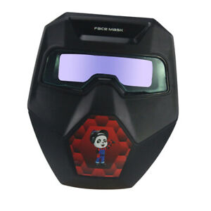 Solar Powered Auto Darkening Welding Mask W Goggles Welding Glasses Adjustable