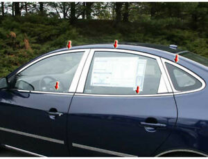 Wp27341 Window Accent Package Fits 2007 2010 Hyundai Elantra 4dr