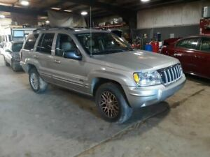 Grille Chrome Surround Painted Silver Bars Fits 04 Grand Cherokee 78720