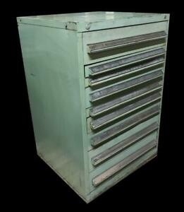 Stanley Vidmar 9 Drawer Industrial Tool Cabinet 30 X 27 5 X 44