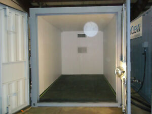 insulated Storage Container All Steel With 15 000 Btu Heating System