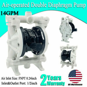 1 2 Air operated Double Diaphragm Pump Strong Acid Base 1 2 Inch Inlet outlet