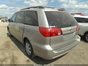 Trunk hatch tailgate Without Spoiler Fits 04 10 Sienna 3201