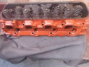 1967 Corvette 427 435 Horsepower Tripower Cylinder Head Tri power