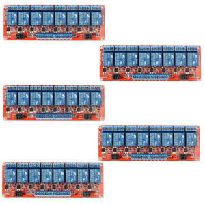 5pcs 24v 8 channel Relay Module With Optocoupler H l Level Triger For Arduino
