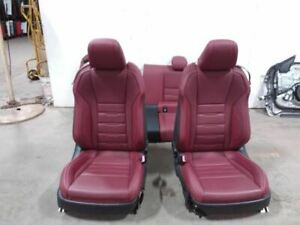 f Sport Red Leather Seat Package 15 17 Lexus Rc350 Donor Car Was A 2015