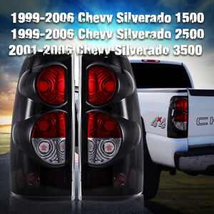 Tail Lights For 99 06 Chevy Silverado 99 02 Gmc Sierra Replacement Assembly Pair