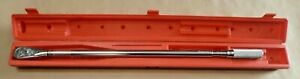 Snap On Qd4r600 3 4 Drive Click Type Fixed Ratchet Torque Wrench 120 600 Ft Lb