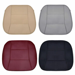 Pu Leather Auto Seat Cover Front Rear Row Bamboo Charcoal Car Seat Cushion Pad