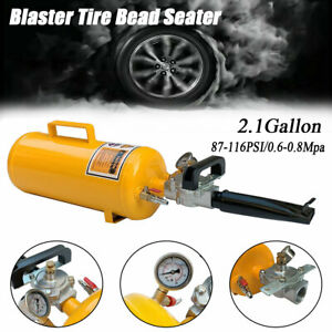 8l Portable Air Blaster Tool Trigger Seating Inflator Handheld Tire Bead Seater