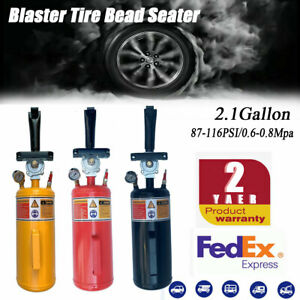 Portable 8l Air Blaster Tool Trigger Seating Inflator Handheld Tire Bead Seater