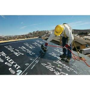 Tri flex Xt 48 In X 250 Ft Black Synthetic Roll Roofing Underlayment Weather