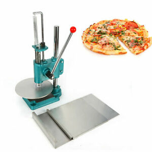 Manual Pastry Press Machine Pizza Dough Maker Stainless Steel Household Tool New