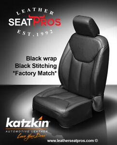 Leather Seat Covers 2013 2018 Jeep Wrangler Jk 2 4 Door Black Factory Match