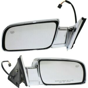 Mirror For 1988 1998 Chevrolet C1500 Driver And Passenger Side Set Of 2