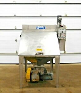 Mo 3407 Young Industries Bag Dump Station W Rotary Airlock 304 Ss Fbd 42 8