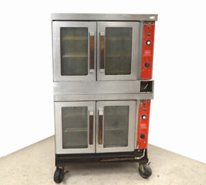 Vulcan Vc4gd Double stack Gas Convection Oven Variable speed 44kbtu hr 150 500 f