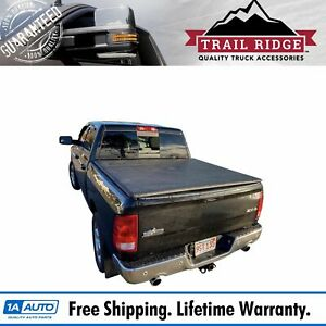 Trail Ridge Hard Tri fold Tonneau Cover For Dodge Ram Pickup 6 4ft Bed New
