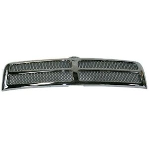 New Grille For Dodge Ram 1500 2500 3500 Without Sport Model 1994 2002 Ch1200178