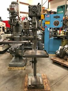 Clausing 1771 15 Variable Speed Drill Press Usa gmt 2161