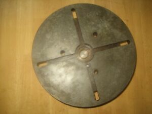 Carroll Jamieson Lathe Face Plate 11 Inches