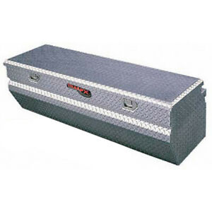 Diamond Tread Polished Aluminum Chest Truck Tool Box 60x17 125x19 875in