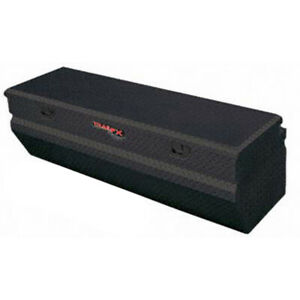 Diamond Tread Black Powder Coated Chest Truck Tool Box 60x17 125x19 875in