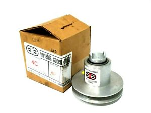 New Speed Selector Inc 4c Variable Speed Pulley
