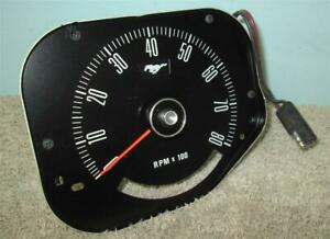 1969 1970 Mustang Tachometer 8 000 Rpm C9zf 17360 a Likely Nos Standard Interior