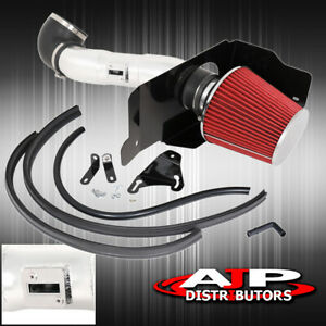 For 2005 2009 Ford Mustang V8 Chrome Cold Air Intake Heat Shield Performance