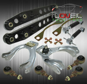 For 92 95 Civic Eg Lower Control Arm Front Upper Rear Camber Kit W Ball Joint