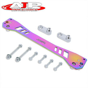 Jdm Sport For 96 00 Honda Civic Aluminum Rear Lower Subframe Tie Brace Bar Neo