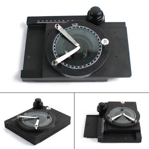 Xy Rotatable Microscope Fine tuning Work Stage Gliding Table Manual Stage scale