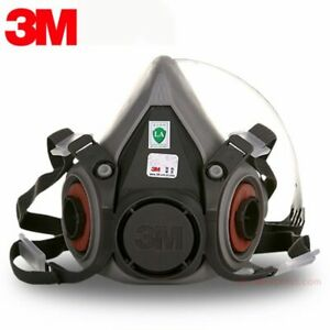 3m 6200 Gas Mask Spray Paint Decoration Chemical Dust Mask Protection Toxic