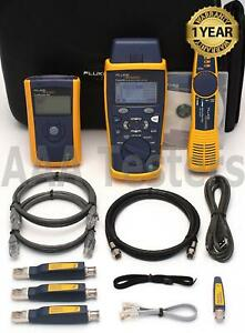 Fluke Networks Cableiq Ciq gsv Gigabit Service Kit Linkrunner Pro Intellitone