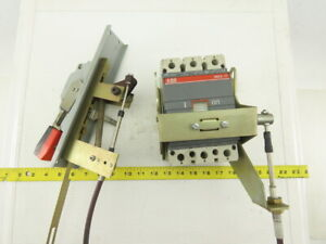 Abb Sace S3 100a 600v Ac dc Main Circuit Breaker W Panel Operator Switch