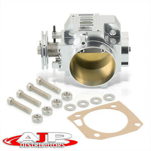 70mm Bolton Throttle Body Silver For Acura Honda Dc5 Ep3 Fg Fa K series K20 Swap