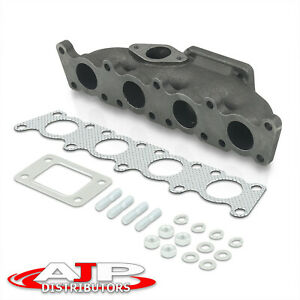Cast Iron T3 Turbo Exhaust Manifold For 1998 2005 Volkswagen Golf Jetta Mk4 1 8t