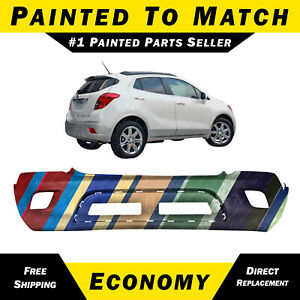 New Painted To Match Rear Bumper Cover Fascia For 2013 2016 Buick Encore 13 16