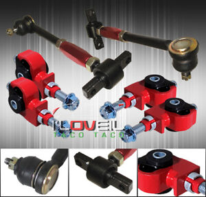 For 90 97 Accord Front Rear Camber Kit Adjustable Suspension Jdm Links Control