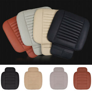 Universal 3d Pu Leather Car Seat Cover Breathable Pad Mat For Auto Chair Cushion