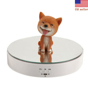 Electric Display Stand Intelligent Electric Rotating Jewelry Jade Turntable Us