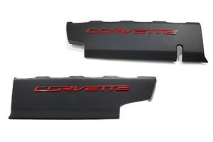 genuine Gm Left And Right Fuel Rail Engine Appearance Covers For Corvette
