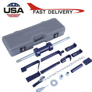 Dent Puller Slide Hammer 13 Lbs Auto Body Shop Repair Axle Bearing Remover Set