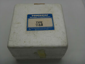 New Superior Electric Powerstat 3pn116b Variable Autotransformer