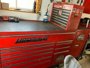 Mac Tool Macsimizer Toolbox W Side Cabinet And Tools