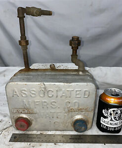 Dual Fuel Original Associated United Gas Tank For Hit Miss Gas Engine Tractor